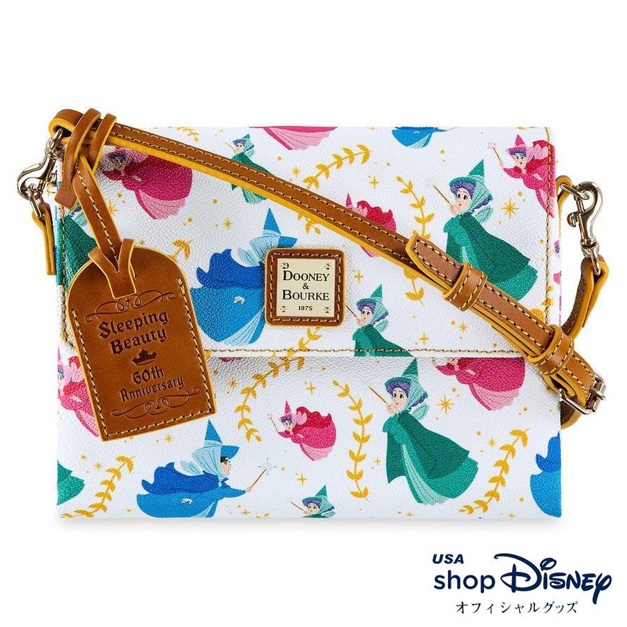 ディズニー Disney 眠れる森の美女 60周年記念 ボディバッグ ミニショルダー ドゥーニー&バーク Dooney & Bourke レディース