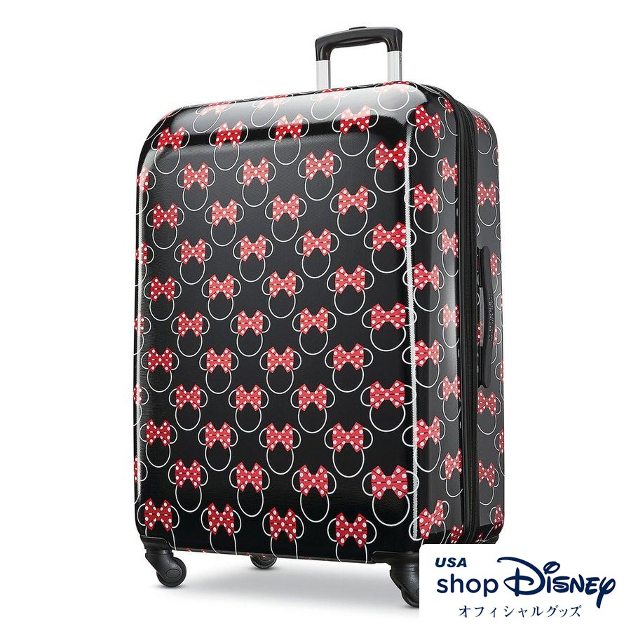 ディズニー Disney ミニーマウス スーツケース キャリーバッグ Lサイズ アメリカンツーリスター ギフト プレゼント