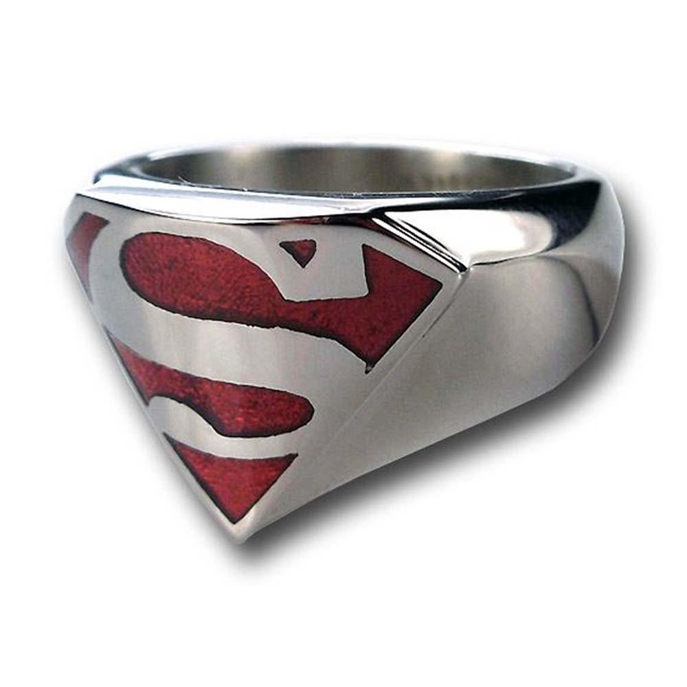 DCコミック グッズ スーパーマン リング 指輪 レディース メンズ