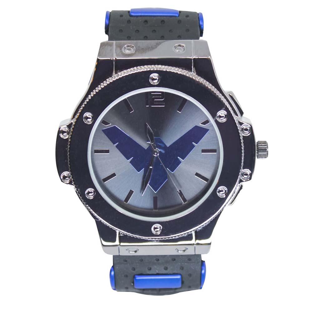 DCコミック グッズ ナイトウィング 腕時計 レディース メンズ