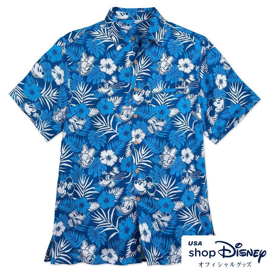 d0b90d93 Disney Disney US formula Mickey Mouse friends Hawaiian shirt men ...