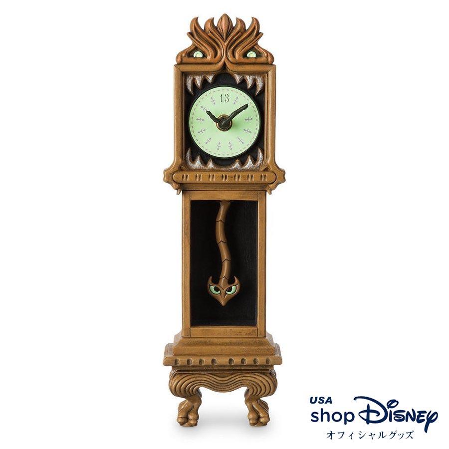 ディズニー Disney ホーンテッドマンション 置き時計 卓上時計 ギフト プレゼント
