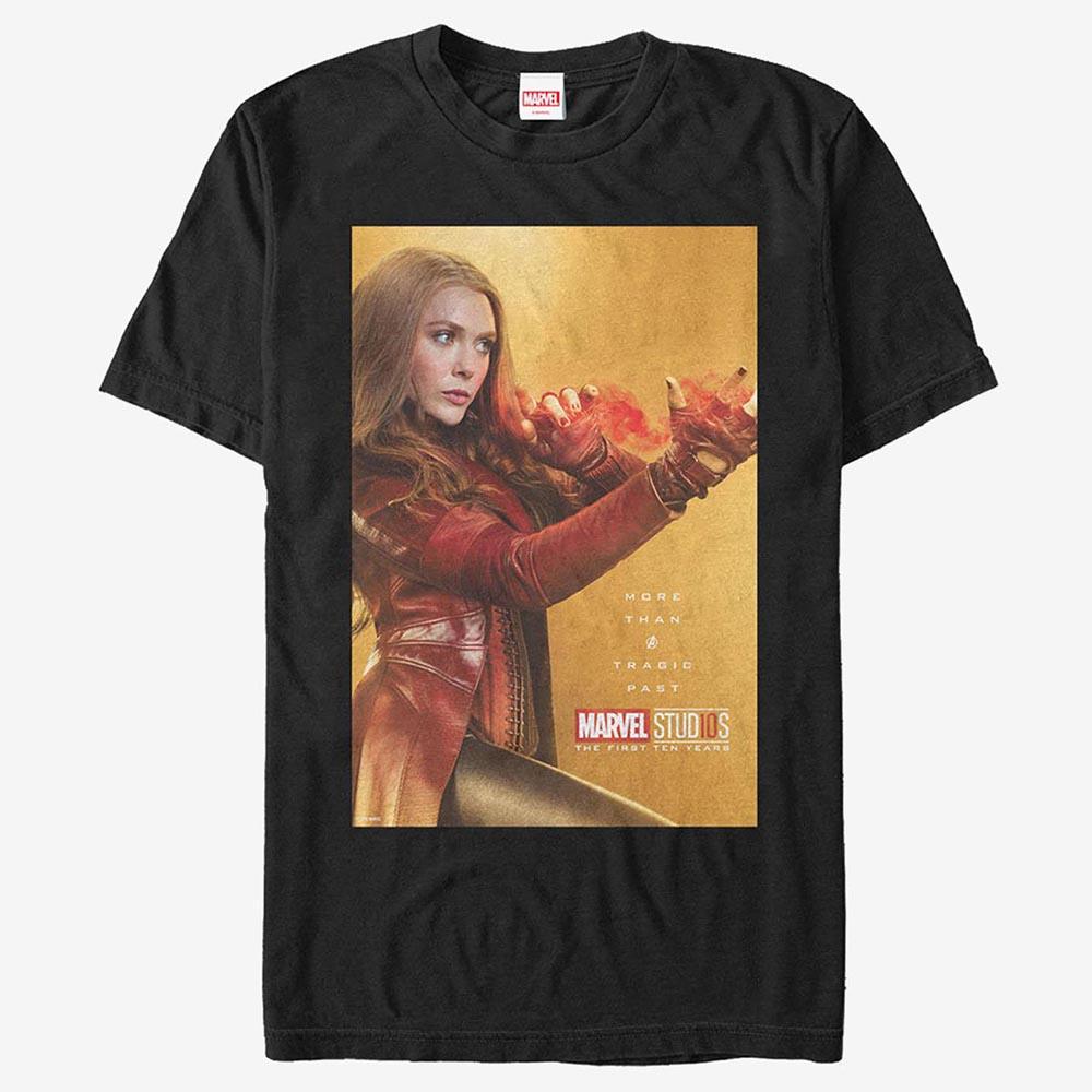 マーベル Marvel スカーレット ウィッチ Tシャツ 半袖 マーベル スタジオ 10周年記念 レディース メンズ
