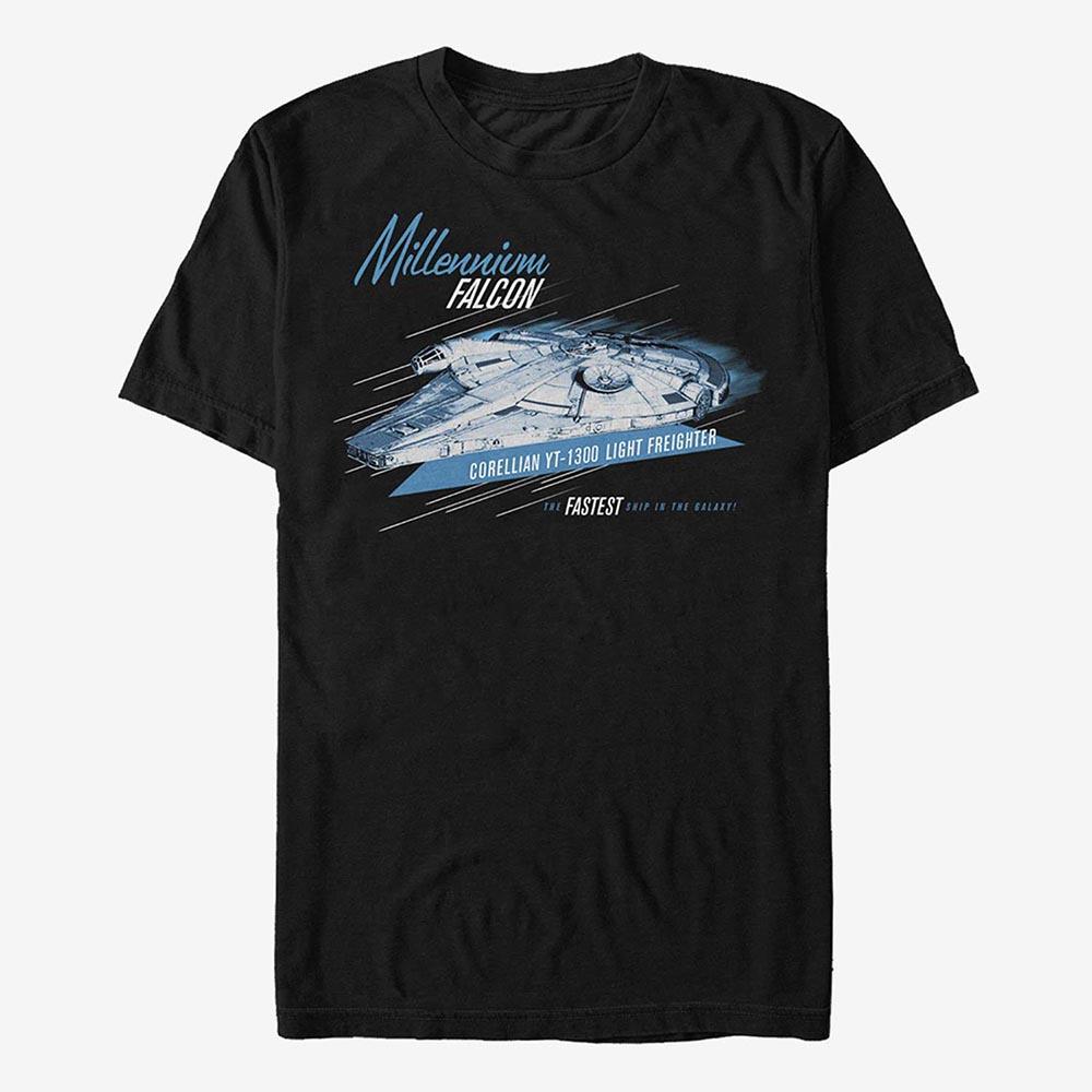 スターウォーズ StarWars ミレニアムファルコン Tシャツ 半袖 レディース メンズ