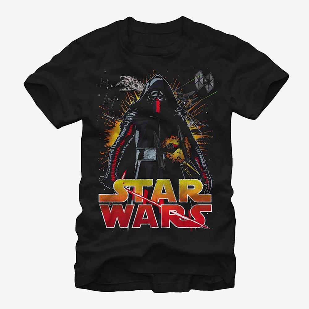 海外限定スターウォーズ公式Tシャツ スターウォーズ StarWars カイロ 商品追加値下げ在庫復活 新生活 レン レディース 半袖 Tシャツ メンズ