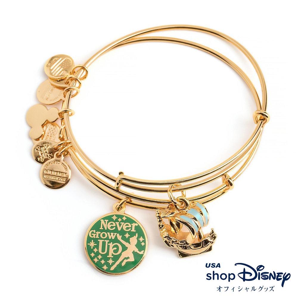 ディズニー Disney ピーターパン ブレスレット バングル セット アレックス アンド アニ レディース ギフト プレゼント