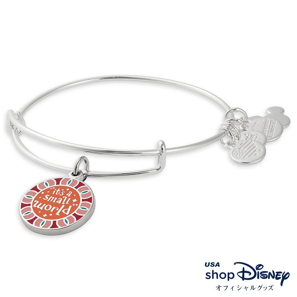 ディズニー Disney イッツアスモールワールド ブレスレット バングル アレックス アンド アニ レディース ギフト プレゼント
