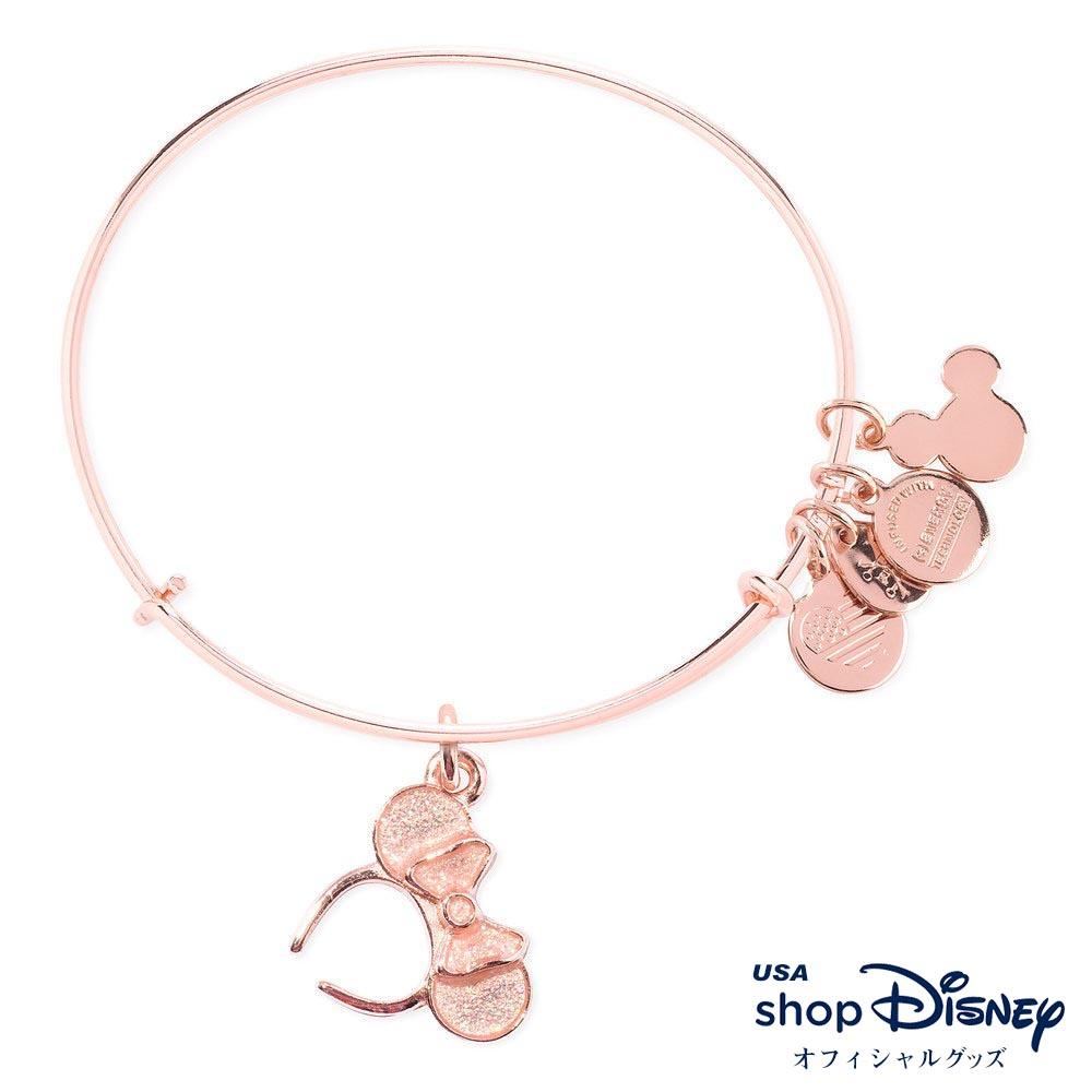 ディズニー Disney ミニーマウス ブレスレット バングル アレックス アンド アニ レディース ギフト プレゼント