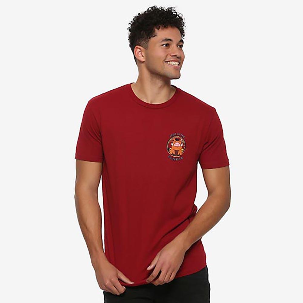 USAディズニーストア公式グッズ 国内未展開アイテム ライオンキング Tシャツ 送料無料/新品 ディズニー メンズ 半袖 割引も実施中 Disney フンバ