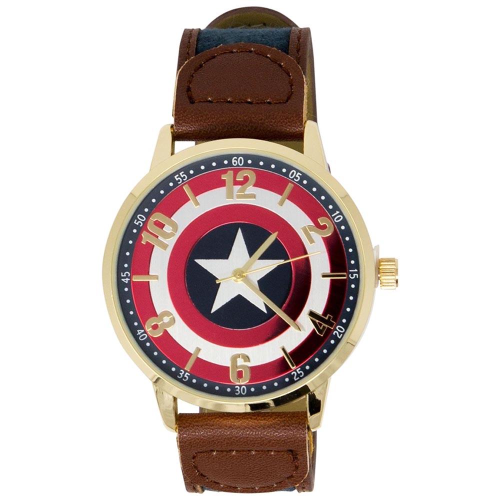 マーベル Marvel キャプテンアメリカ 腕時計 レディース メンズ ギフト プレゼント