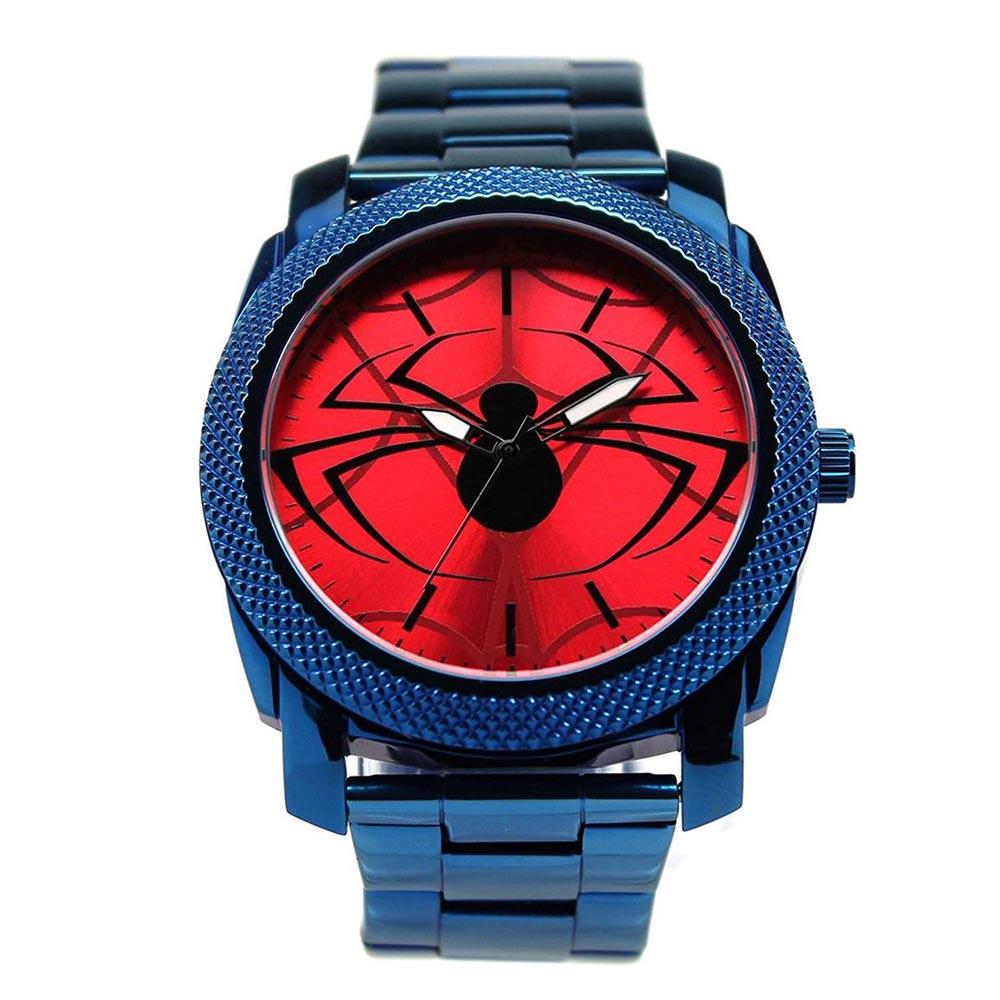 マーベル Marvel スパイダーマン 腕時計 ステンレス ベルト レディース メンズ ギフト プレゼント