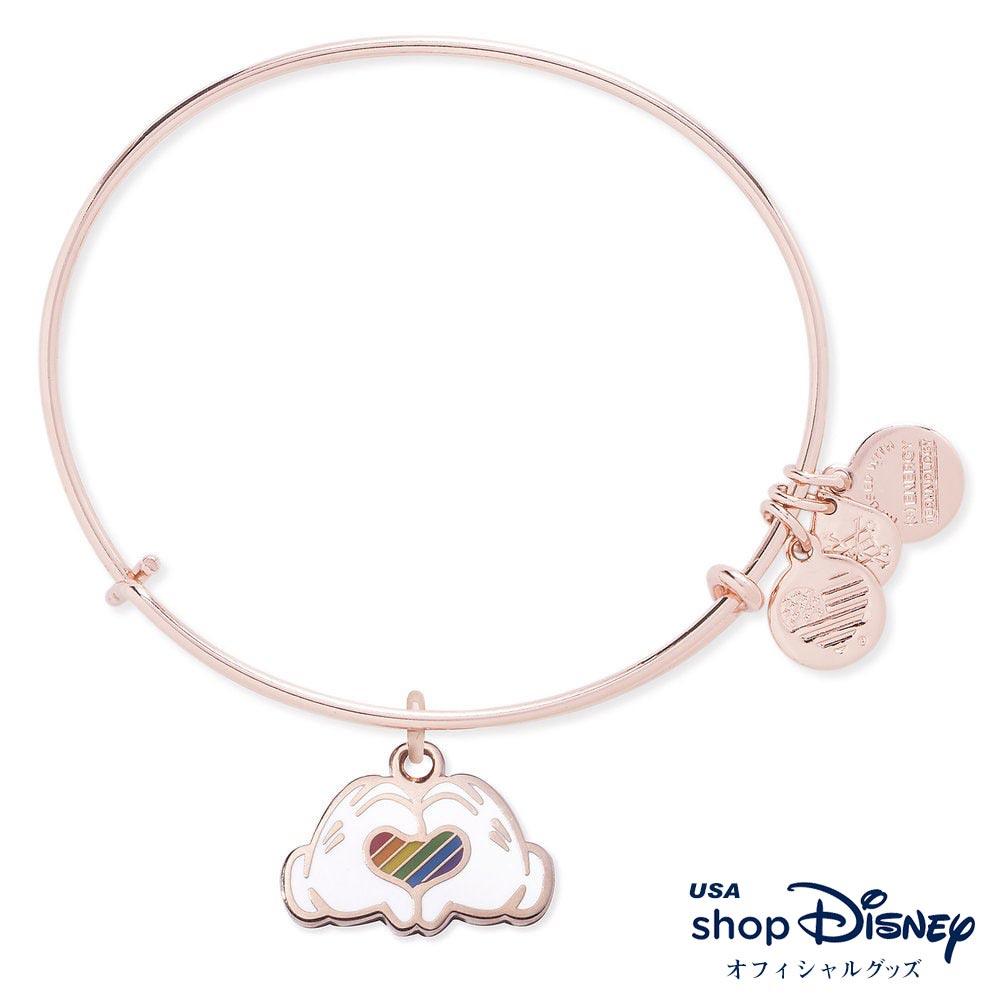 ディズニー Disney ミッキーマウス ブレスレット バングル アレックス アンド アニ レディース ギフト プレゼント