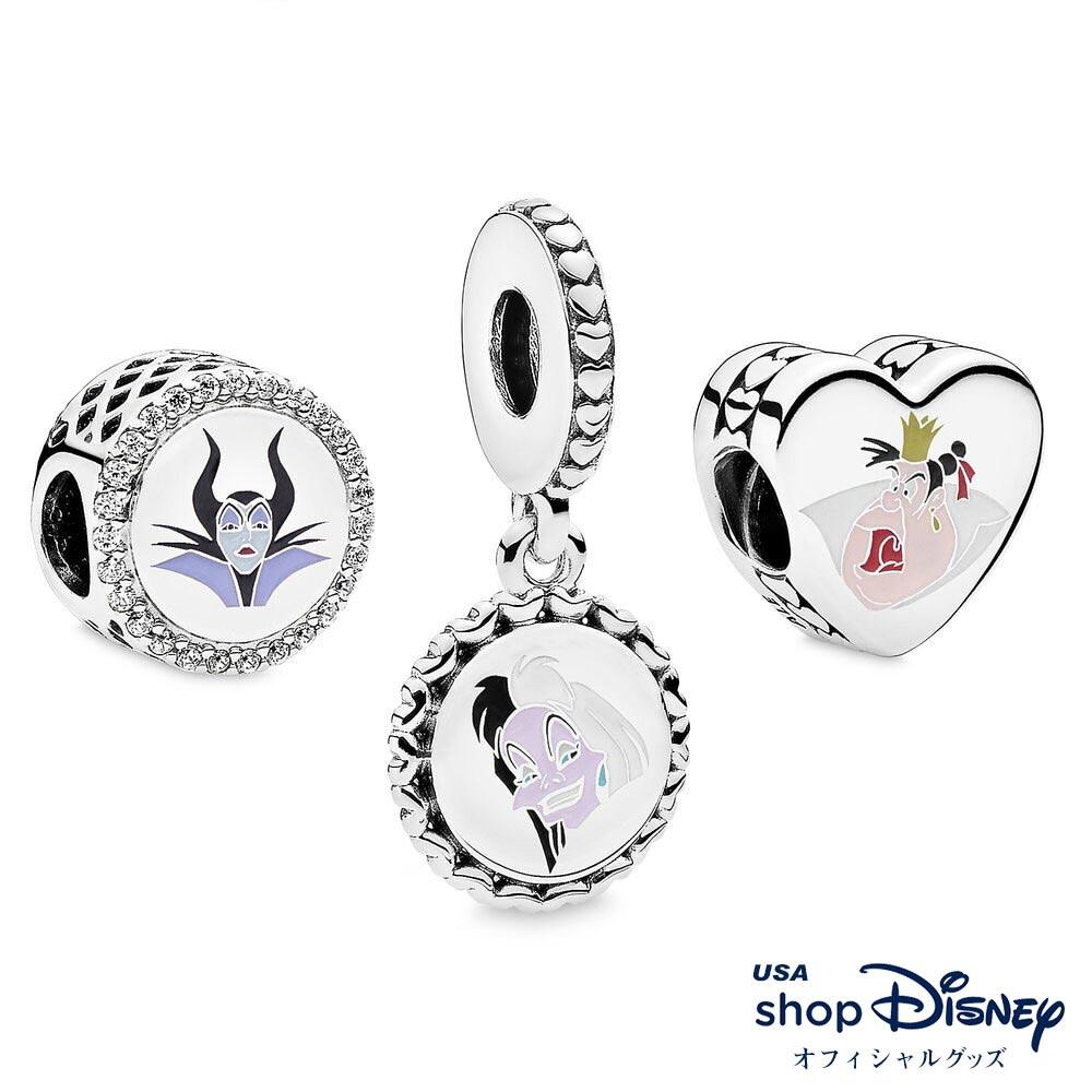 ディズニー Disney ヴィランズ チャーム セット パンドラ レディース ギフト プレゼント