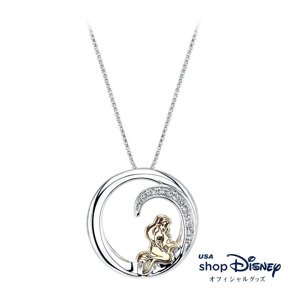 ディズニー Disney リトルマーメイド アリエル ペンダント ネックレス レディース ギフト プレゼント
