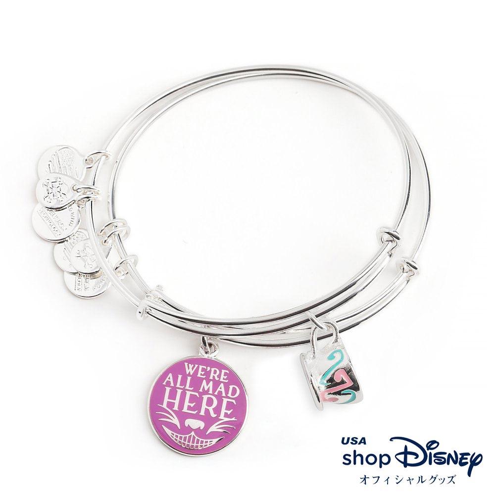 ディズニー Disney ふしぎの国のアリス チェシャ猫 ブレスレット バングル アレックス アンド アニ レディース ギフト プレゼント