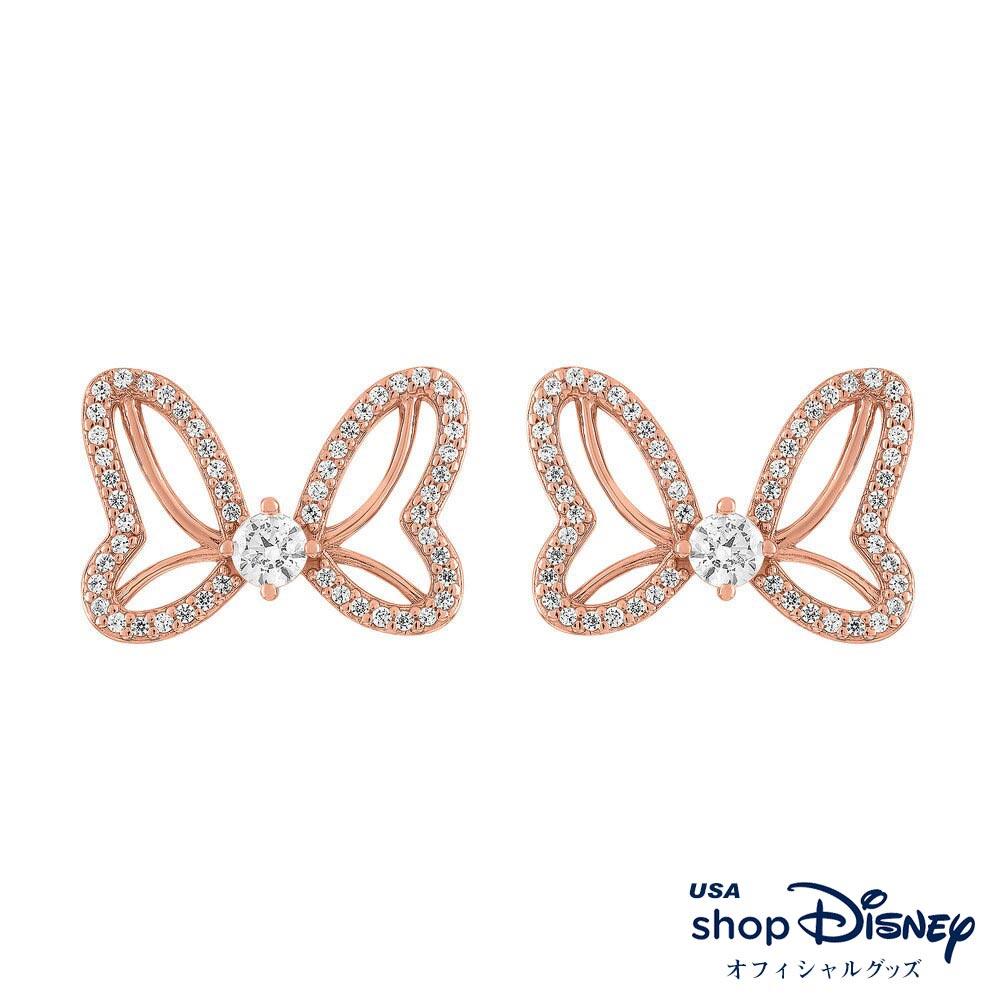 ディズニー Disney ミニーマウス ピアス レディース ギフト プレゼント