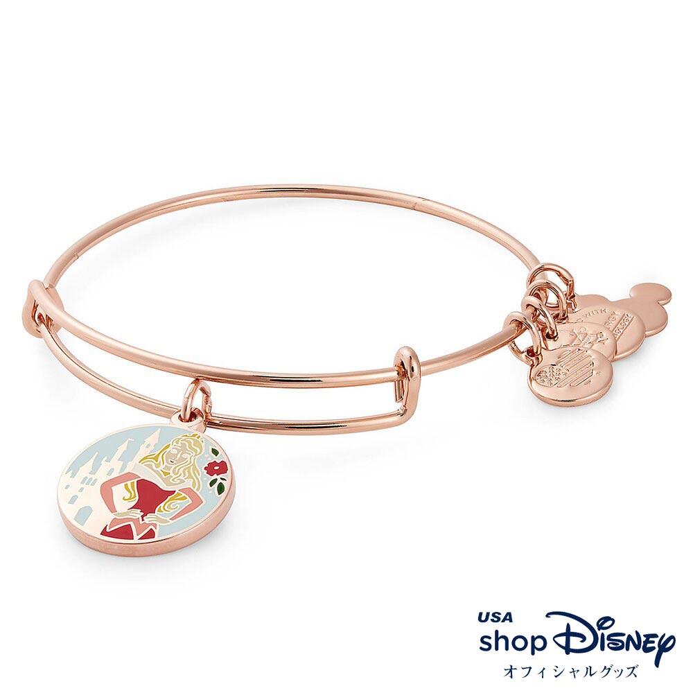 ディズニー Disney 眠れる森の美女 オーロラ ブレスレット バングル アレックス アンド アニ レディース ギフト プレゼント