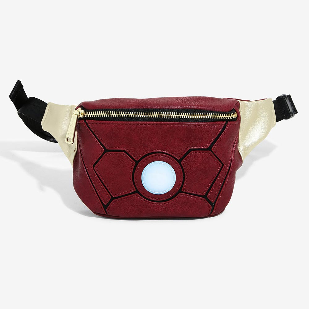 マーベル Marvel アイアンマン ボディバッグ ウエストバッグ ラウンジフライ Loungefly レディース メンズ