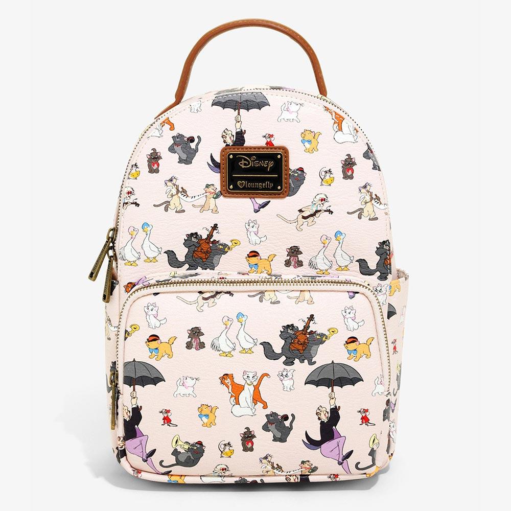 ディズニー Disney おしゃれキャット ミニバックパック リュック ラウンジフライ Loungefly レディース