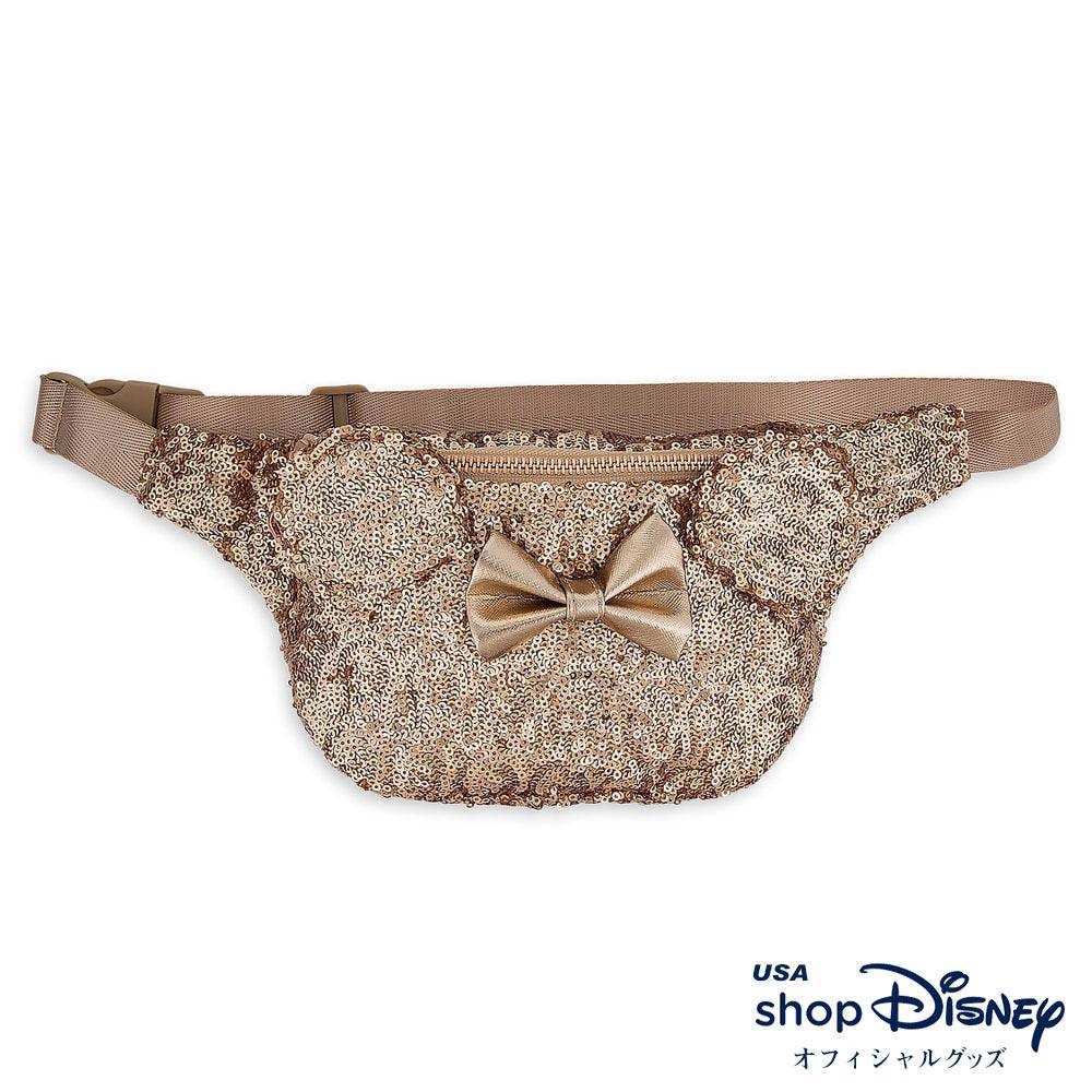 ディズニー Disney ミニーマウス ボディバッグ ウエストバッグ ラウンジフライ Loungefly レディース