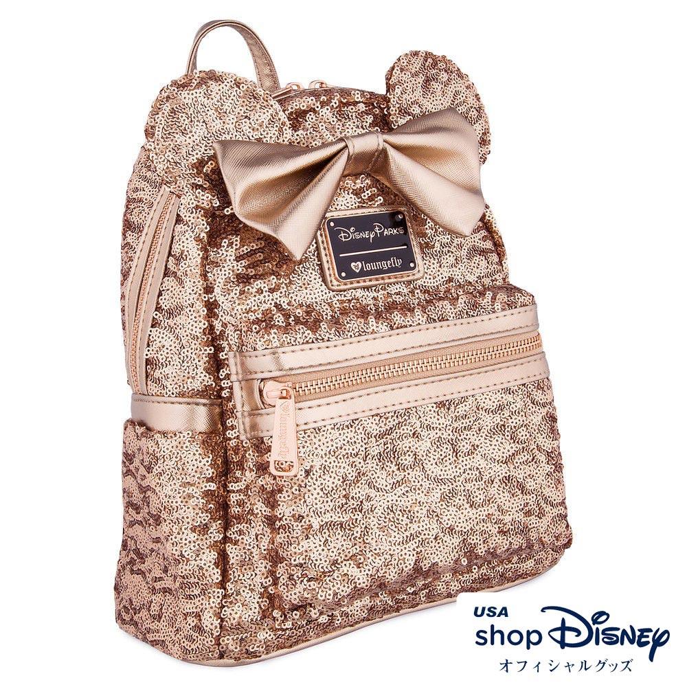 ディズニー Disney ミニーマウス ミニバックパック リュック ラウンジフライ Loungefly レディース