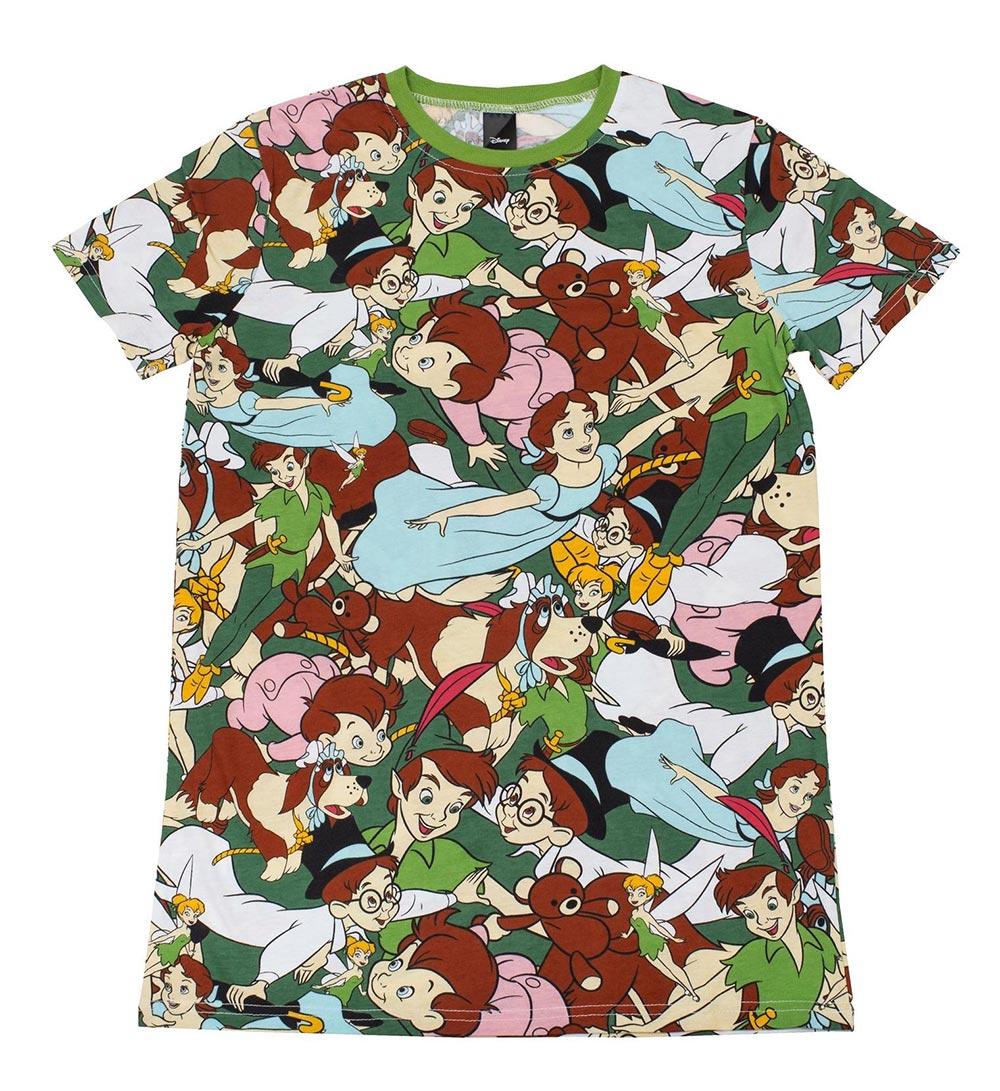 ディズニー Disney ピーターパン Tシャツ 半袖 Cakeworthy レディース メンズ