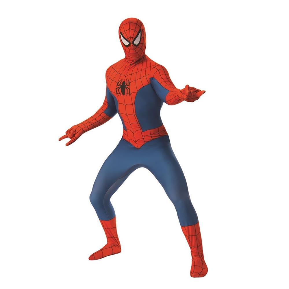 マーベル Marvel スパイダーマン コスチューム スーツ ラテックス メンズ