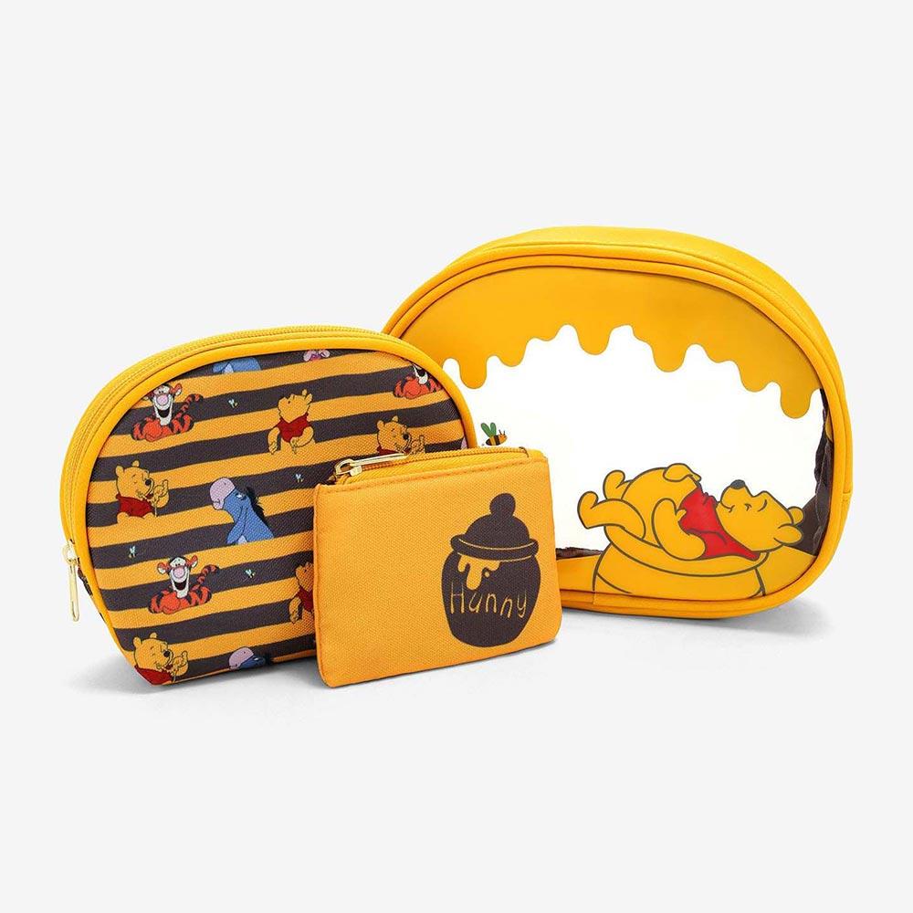 ディズニー Disney くまのプーさん 化粧ポーチ 小物入れ セット ラウンジフライ Loungefly レディース
