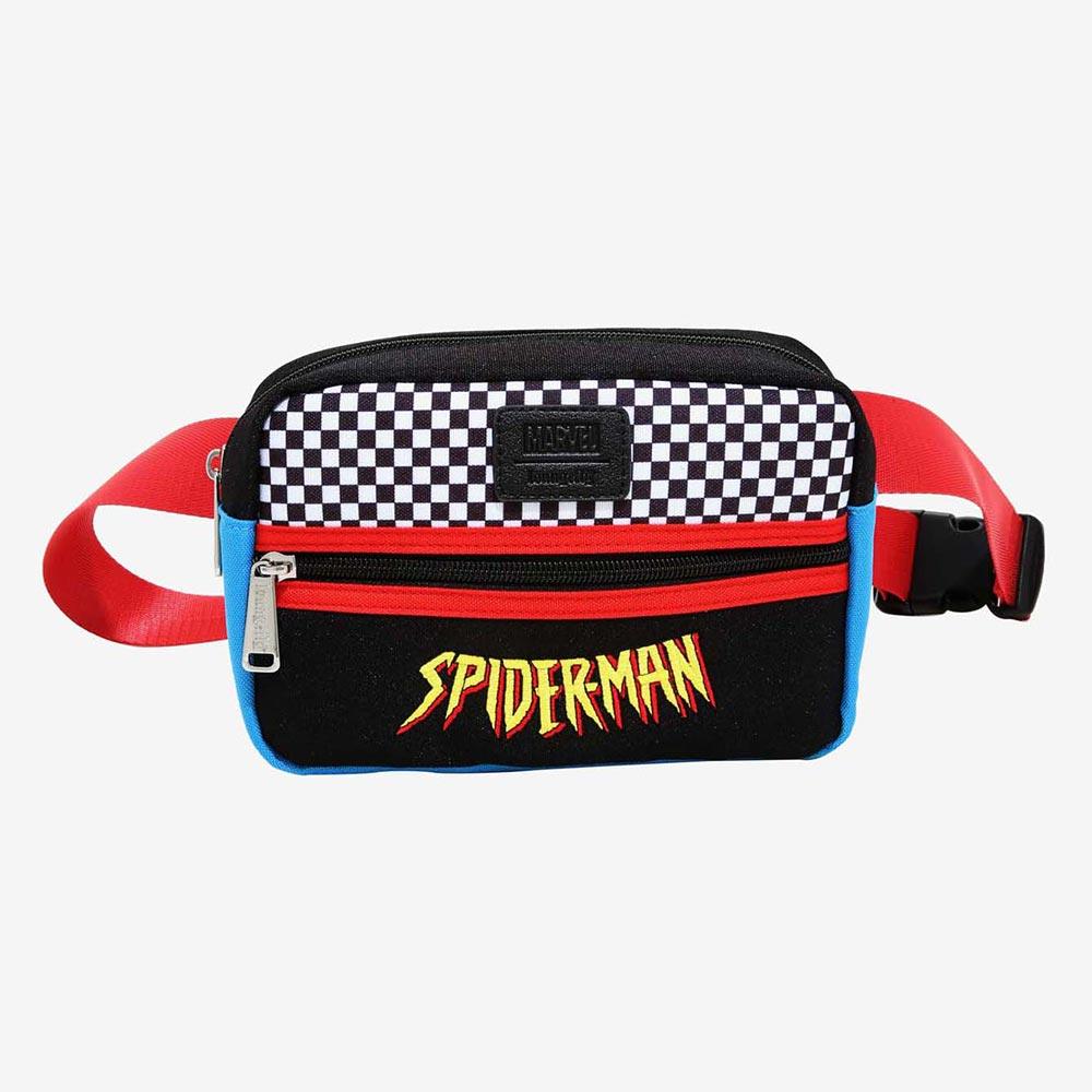 マーベル Marvel スパイダーマン ボディバッグ ウエストバッグ ラウンジフライ Loungefly レディース メンズ