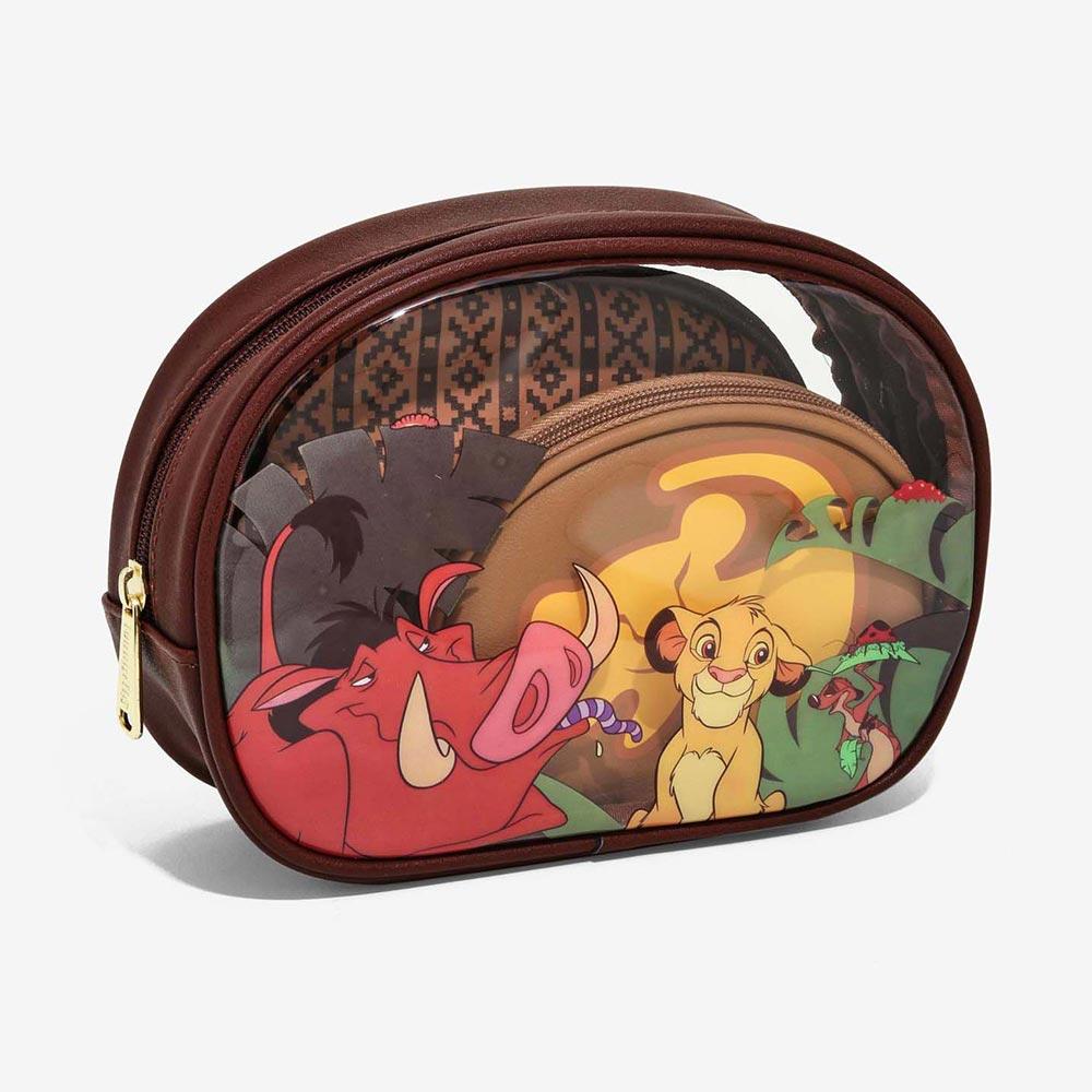 ディズニー Disney ライオンキング 化粧ポーチ 小物入れ セット ラウンジフライ Loungefly レディース