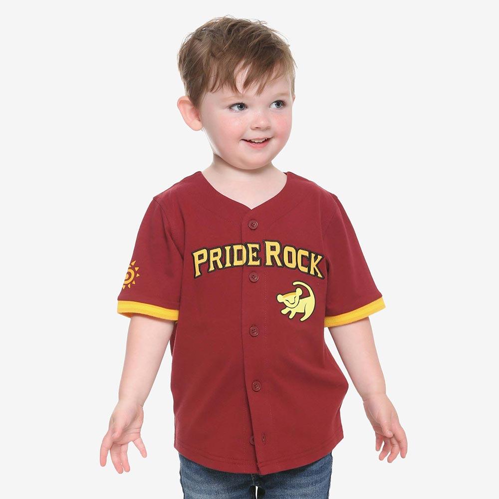 ディズニー Disney ライオンキング ベースボール シャツ 子ども服 キッズ 男の子 女の子