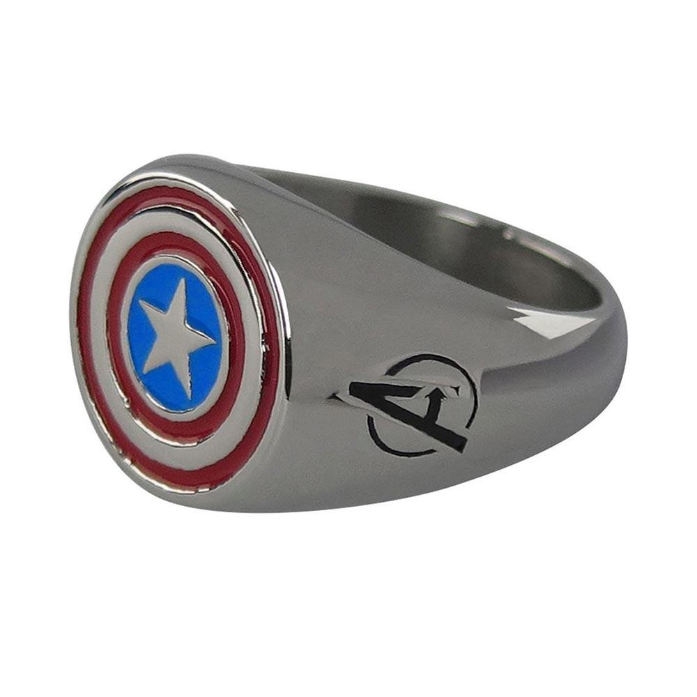 マーベル Marvel キャプテンアメリカ リング 指輪 レディース メンズ ギフト プレゼント
