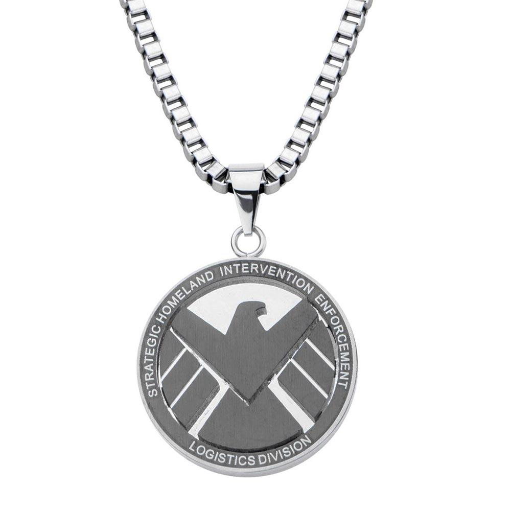 マーベル Marvel シールド ペンダント ネックレス レディース メンズ ギフト プレゼント