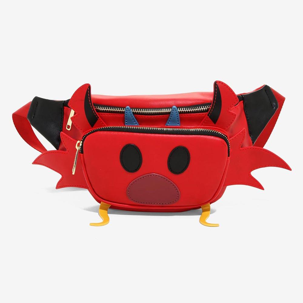ディズニー Disney ムーラン ムーシュー ボディバッグ ウエストバッグ ラウンジフライ Loungefly レディース メンズ