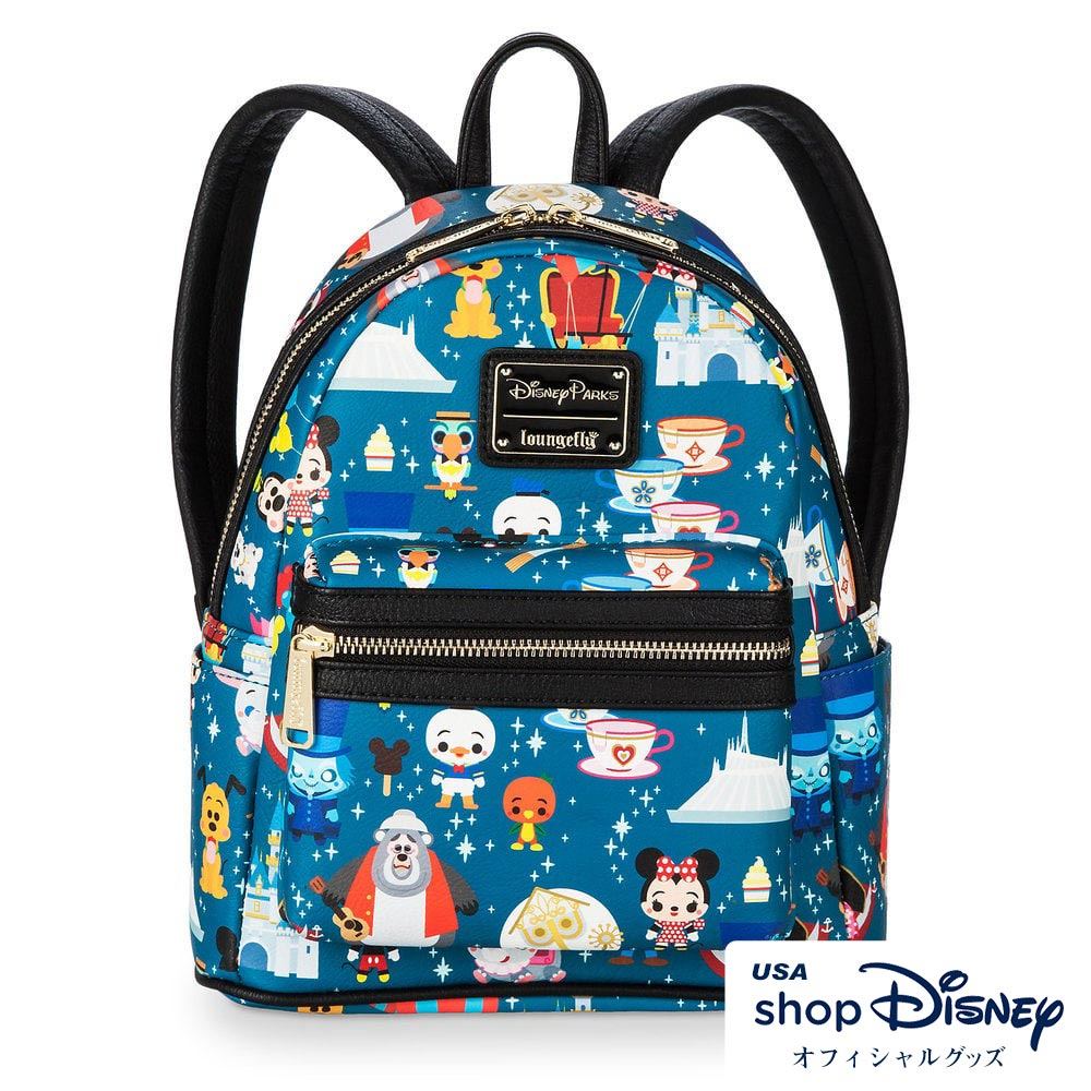 ディズニー Disney ミニバックパック リュック ラウンジフライ Loungefly レディース