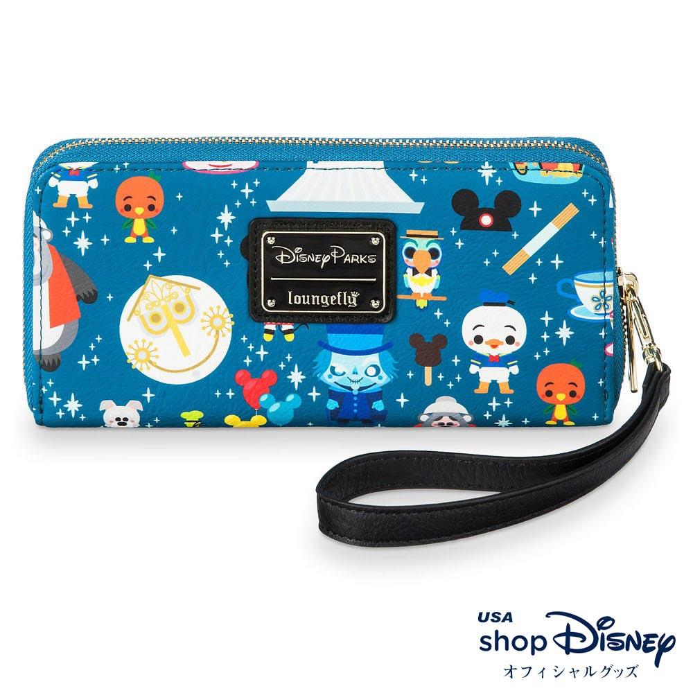ディズニー Disney 財布 長財布 リストレット ラウンジフライ Loungefly レディース