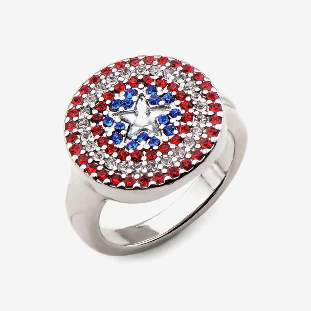 マーベル Marvel キャプテンアメリカ リング 指輪 レディース メンズ543LqARj