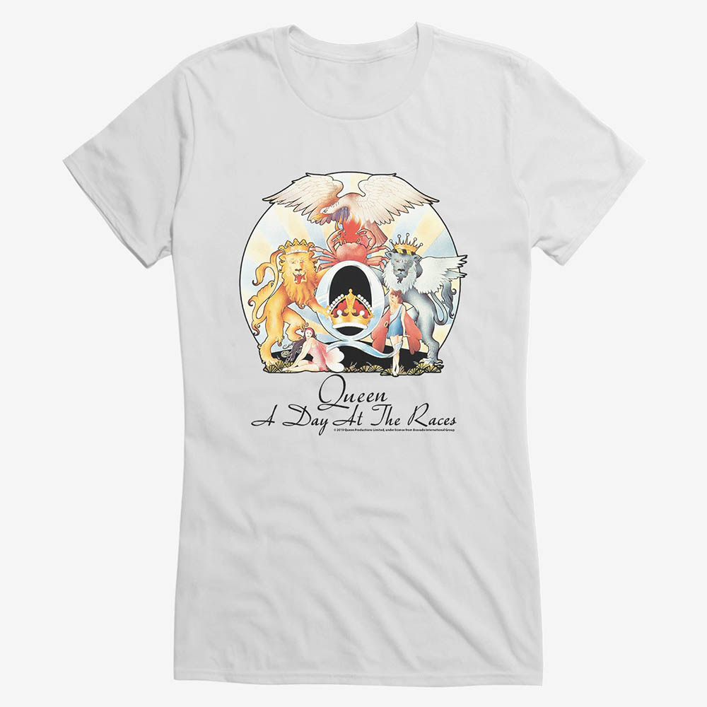 QUEEN Tシャツ クイーン A Day At The Races Musicガールズ キッズ 女の子 ロック バンドTee:映画エンタメショップ SELECTION