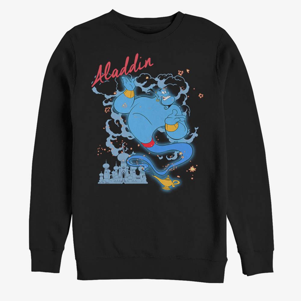 アラジン スウェット ディズニー Disney ジーニー グッズ Sparkle Sweatshirt メンズ