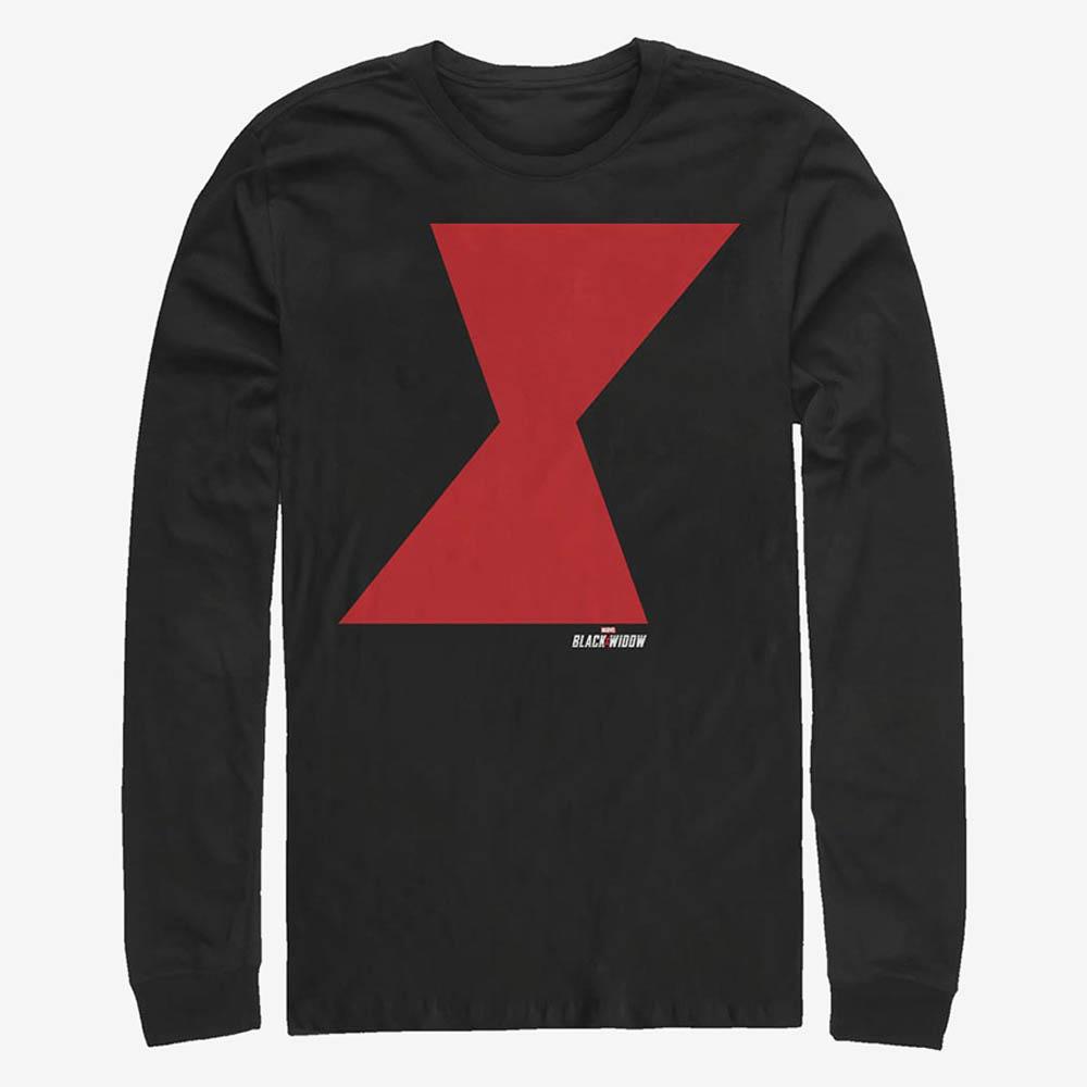 ブラックウィドウ Tシャツ マーベル Marvel Widow Icon Long-Sleeve T-Shirt メンズ
