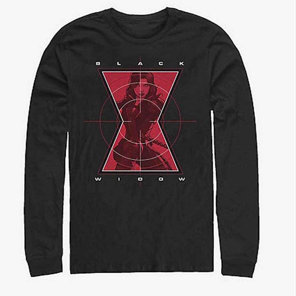 ブラックウィドウ Tシャツ マーベル Marvel Widow Target Long-Sleeve T-Shirt メンズ