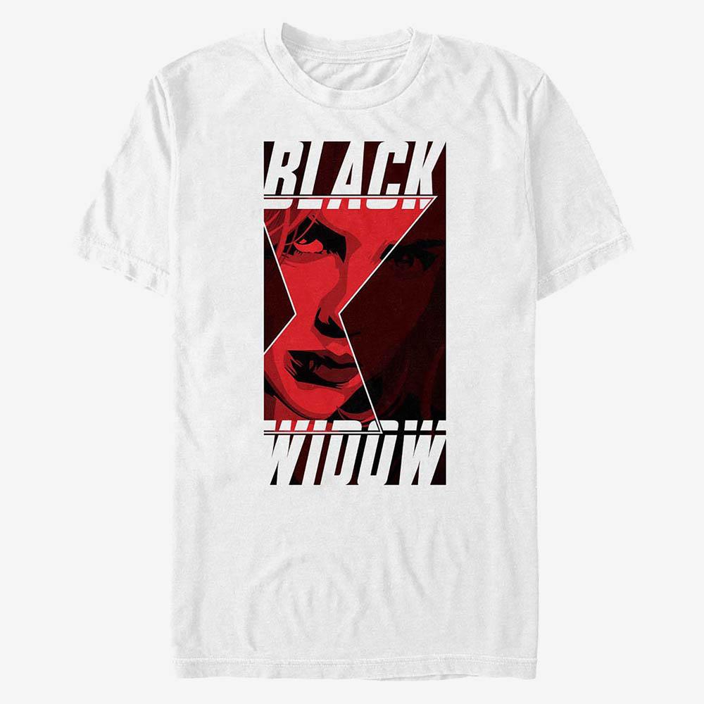 日本入手困難 ブラックウィドウ グッズ Tシャツ 高品質新品 百貨店 マーベル T-Shirt Widow Square Marvel メンズ
