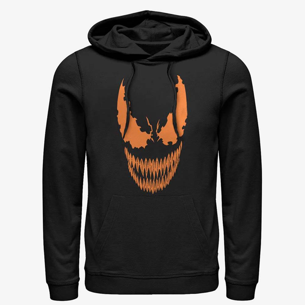 ヴェノム グッズ マーベル Marvel パーカー Venom Face Pumpkin Hoodie メンズ