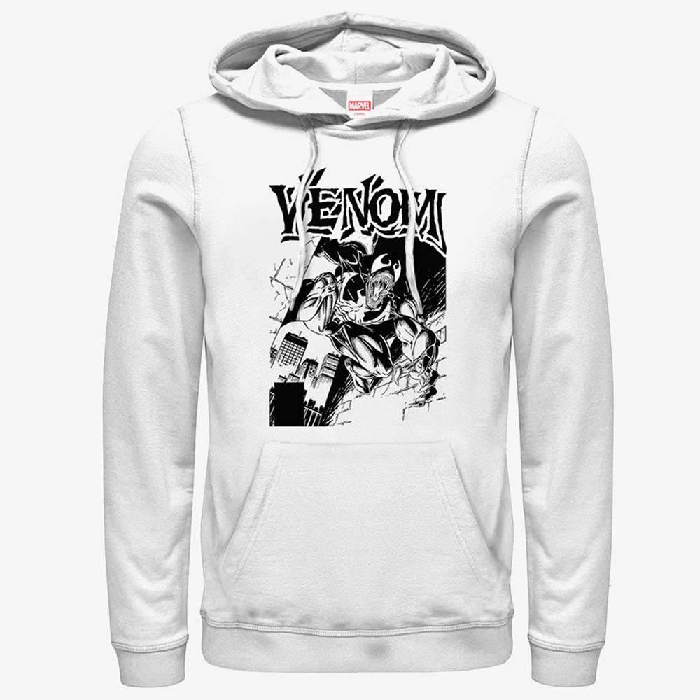 ヴェノム グッズ マーベル Marvel パーカー Venom Street Hoodie メンズ