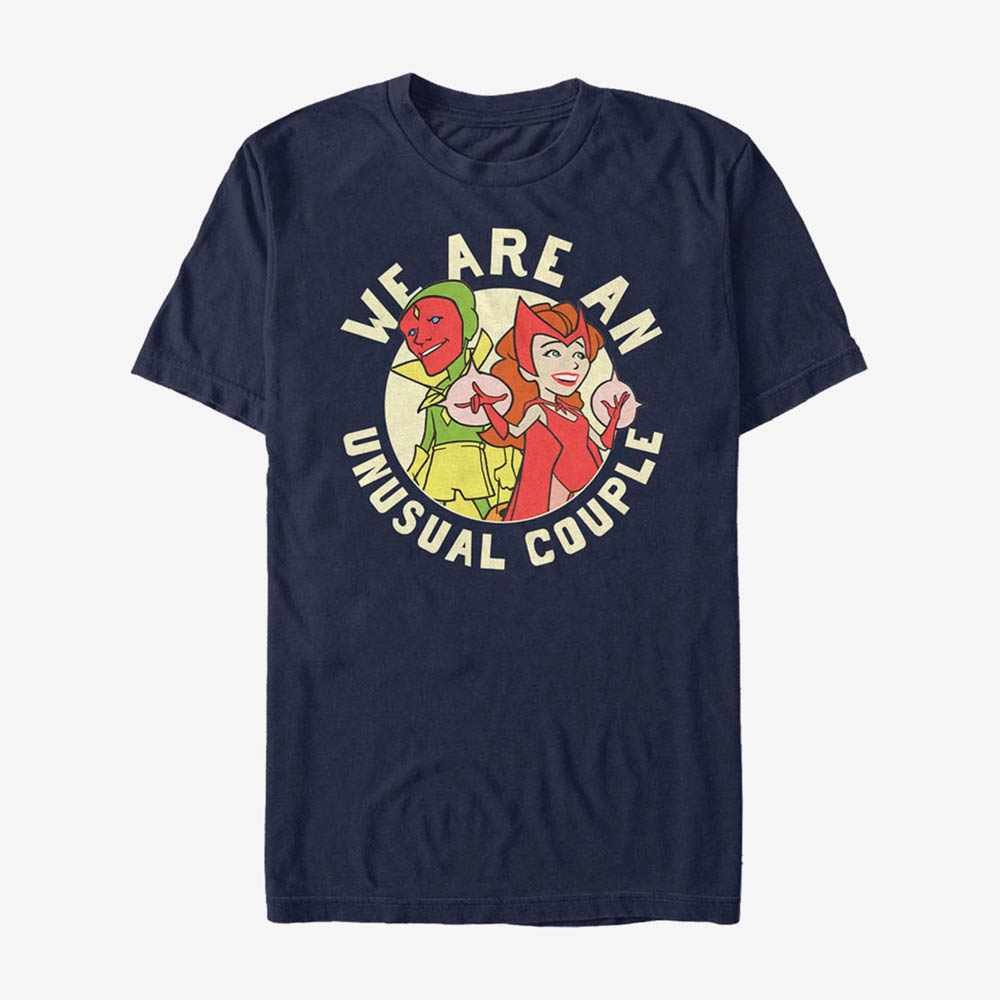 海外モデル 開店祝い 休日 ワンダビジョン グッズ Tシャツ マーベル スカーレットウィッチ Marvel scarlet WandaVision ワンダヴィジョン メンズ 210212sld witch