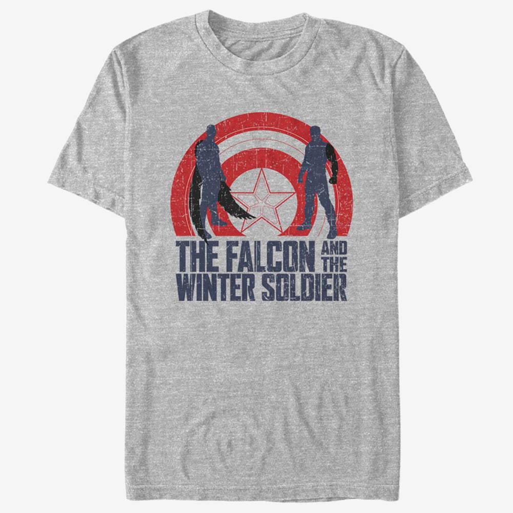海外モデル ファルコンウィンターソルジャー 選択 グッズ ファルコン ウィンターソルジャー Tシャツ マーベル The Marvel And 人気急上昇 Winter T-Shirt Falcon メンズ 210212sld Soldier