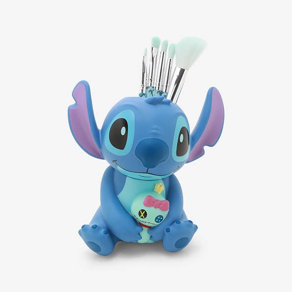 海外モデル 海外 リロアンドスティッチ メイクアップブラシ ラウンジフライ ディズニー リロ スティッチ Makeup 大好評です Set Lilo Disney Stitch LoungeFly Brush