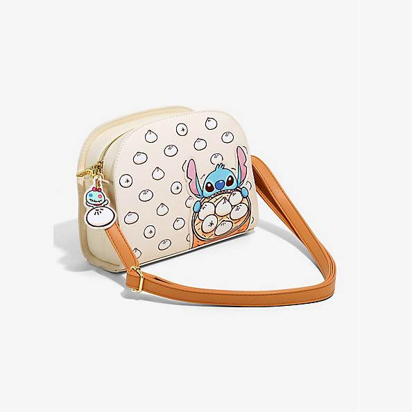 お得セット ラウンジフライ Stitch ディズニー Disney リロ&スティッチ ボディバッグ Disney Lilo Dumpling & Stitch Dumpling Crossbody Bag LoungeFly, PILEDRIVER DIGITAL:2a45396f --- kanvasma.com
