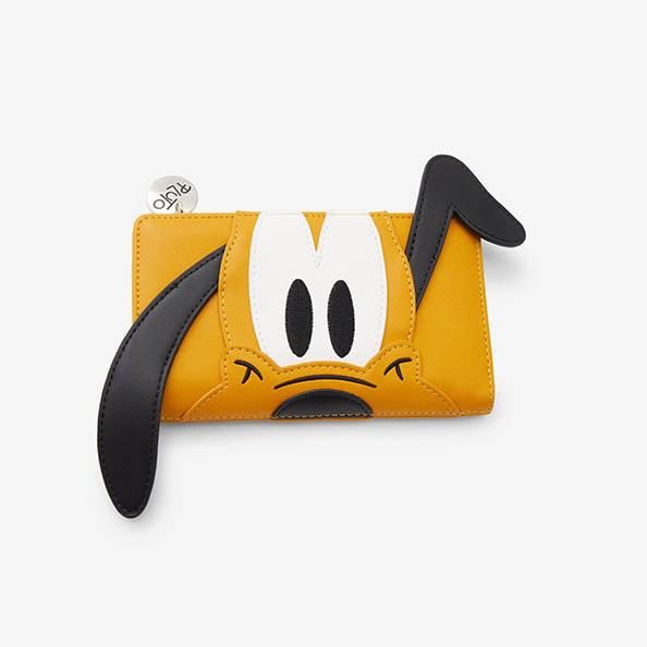 海外モデル ディズニー プルート ウォレット ラウンジフライ Disney Pluto Figural ※ラッピング ※ LoungeFly Wallet 安い