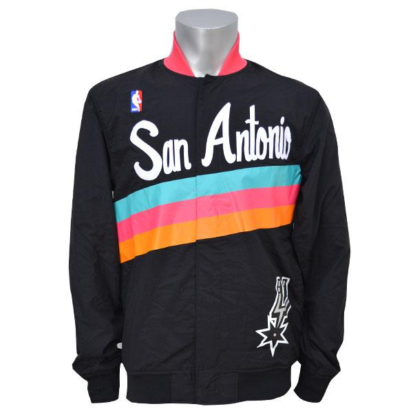nba san antonio spurs authentic warm up jacket 1994 95 mitchell amp